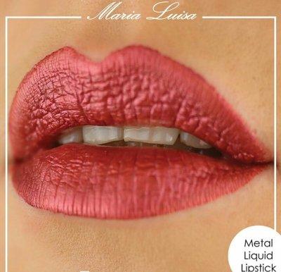 Aden Metal Lipstick жидкая сатиновая помада Аден.Есть ОПТ