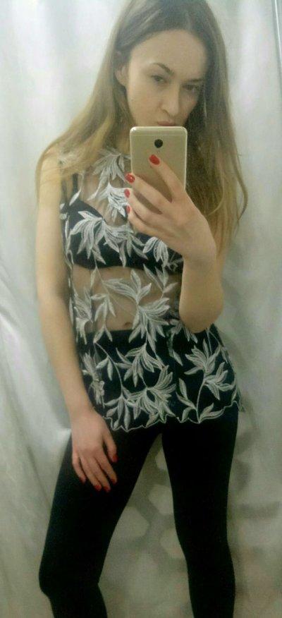 Дизайнерская блуза