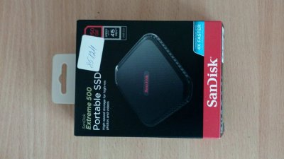 SanDisk Portable Extreme 500 250GB USB 3.0 SSD MLC.SSD Диск