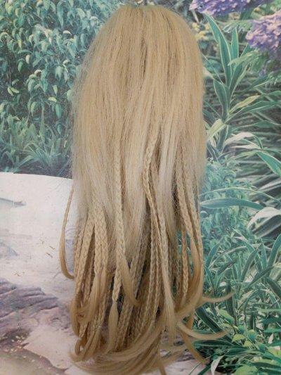 Накладной хвост (волосы на крабе)