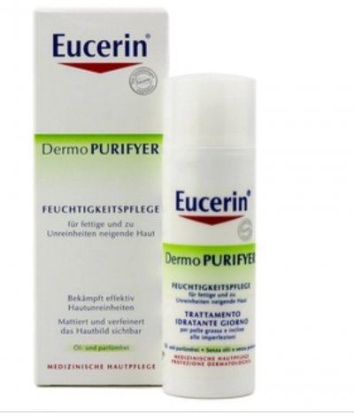 Крем для проблемной кожи Eucerine Dermo PURIFYER