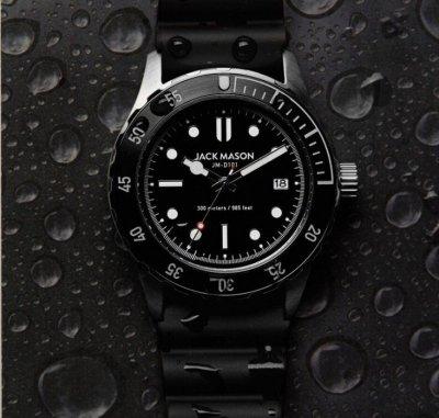 Мужские наручные часы Jack Mason Diver Automatic 42 mm Watch Новые!