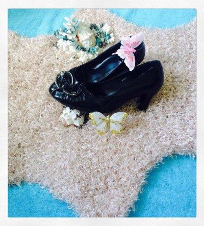 Черные туфельки