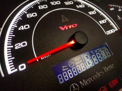 Панель приборов щиток Mercedes Vito 638. 99/03 (CDI) 108/110/112