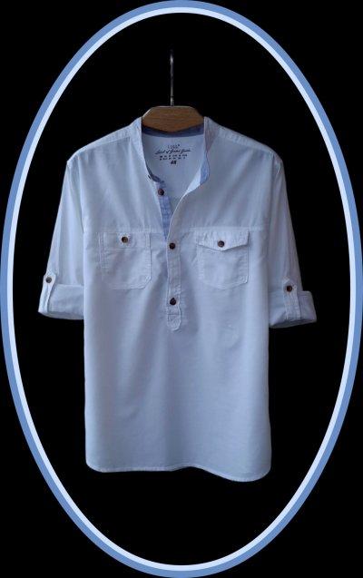 Стильная рубашка Label of Graded Goods H&M (Бангладеш)