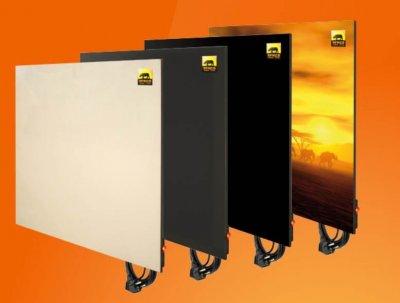 Керамические тепловые панели «Africa» для отопления.