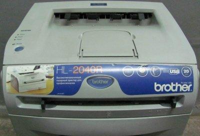 Лазерный черно-белый принтер Brother HL-2040R