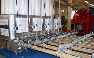 Обладнання для брикетування соломи BIOMASSER