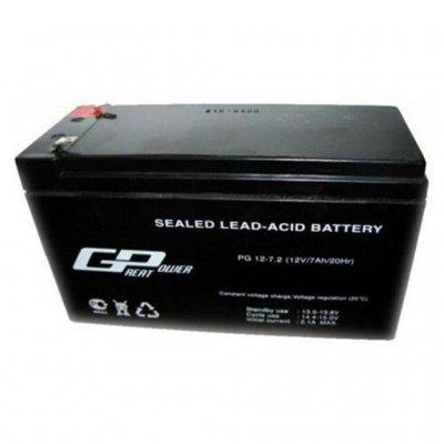Свинцово-кислотный аккумулятор 12в 7,2А Great Power