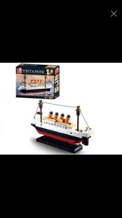 "Конструктор SLUBAN ""Titanic"" на 194 детали"