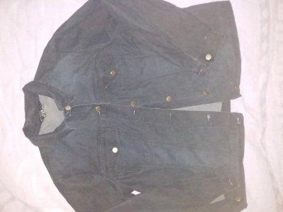 Джинсовая куртка-рубаха