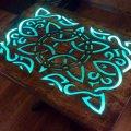 Краска со светящимся эффектом для мебели и дерева