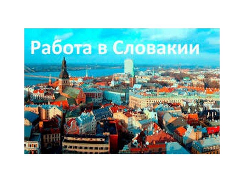 Работа в Словакии для мужчин и женщин з/п в час от 3,5 до 5,5 евро