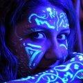 Самовесветящаяся краска для тела и аквагрима