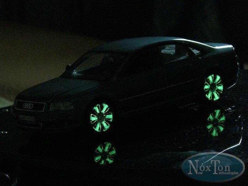 Ультрастойкая светящаяся краска для автомобиля