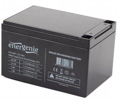 Аккумулятор свинцово-кислотный EnerGenie 12V 12A/H AGM