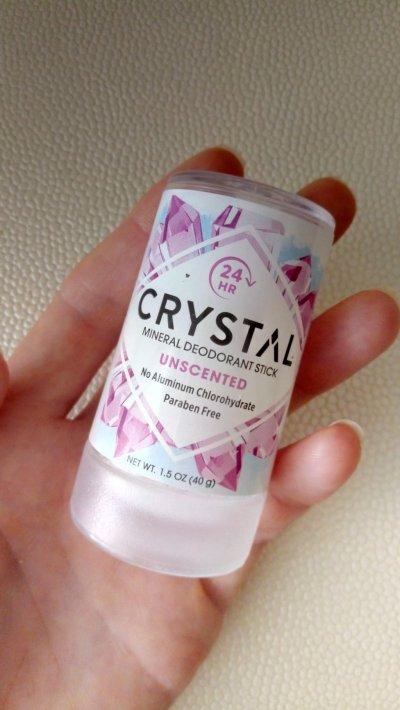 Crystal Body Deodorant, дезодорант, 1. 5 oz 40 г
