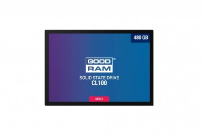 "Накопитель SSD 480GB GOODRAM CL100 GEN.2 2.5"" SATAIII TLC"