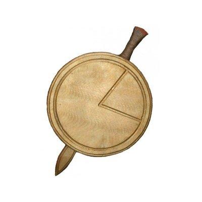 Деревянное детское оружие Набор Спартанский ТМ Дерево