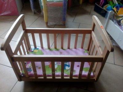 """Детская кроватка для кукол """"Анютка"""""""