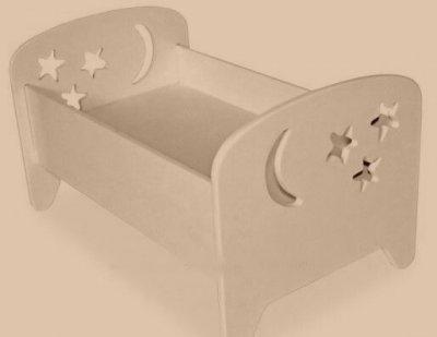 Кроватка для кукол Сладкий сон 2 в 1 Sweet Baby