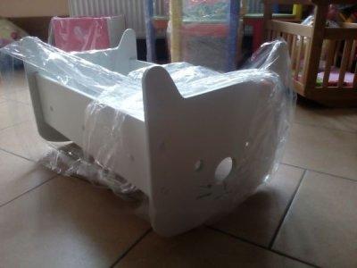 Кукольная кроватка Hello Kitty 2 в 1 Sweet Baby