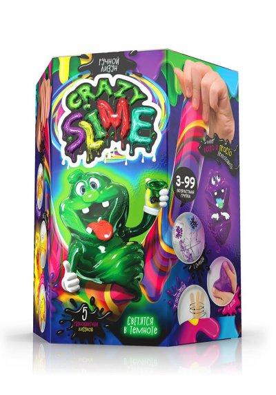Набор для творчества Лизун своими руками, Crazy Slime