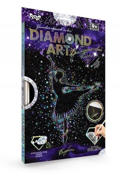 Набор креативного творчества Бриллиантовый блеск DIAMOND ART Danko Toys