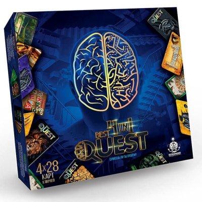 Настольная игра Квест 4в1 Best Quest