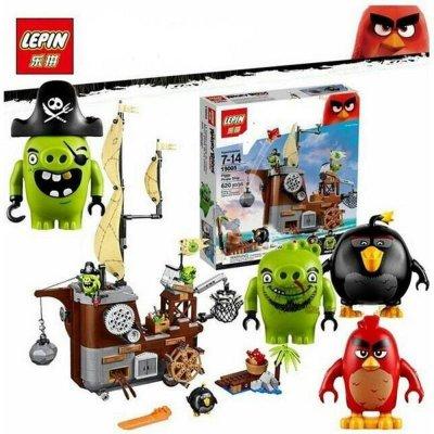 """Конструктор Lepin """"Angry Birds"""" 19005 Пиратский корабль свинок (LEGO 75825)"""