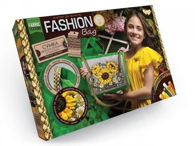 Набор для творчества Модная, Стильная Сумка вышитая лентами и бисером FASHION BAG