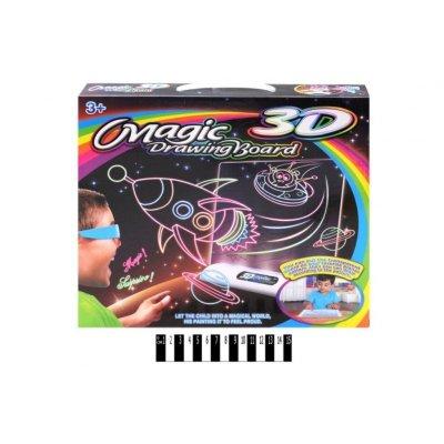 Волшебная 3d доска для рисования рисуем светом YM124