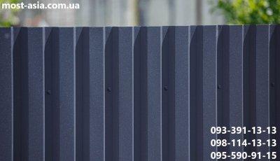 Матовый металлопрофиль 9005, Профлист угольно-черный 9005, Профнастил РАЛ 9005