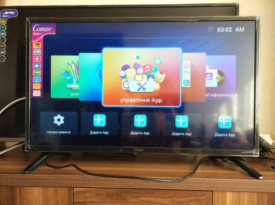 Smart TV 32 дюйма, Android,WiFi DVB-T2, FullHD-АКЦИЯ