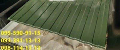 Оливковый профнастил 6020, Металлопрофиль 6020 зеленый