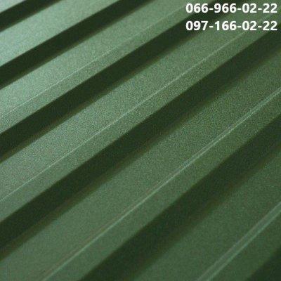 Профнастил РАЛ 6020 оливково-зеленый, Металлопрофиль Мох рал 6020
