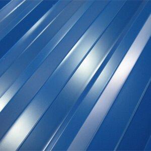 Профнастил Синий, Металлопрофиль RAL 5005 синего цвета