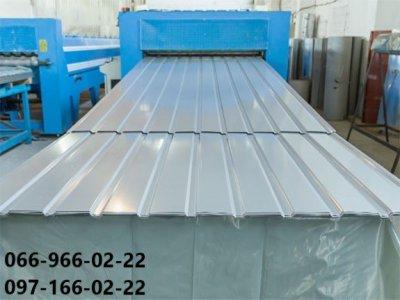 Металлопрофиль белого цвета, Профнастил ral 9003 белый, Белый профилированный лист металлический