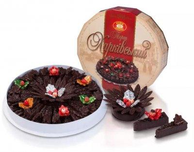 Элитный сувенирный подарочный торт «Харьковский» 1,5 кг.
