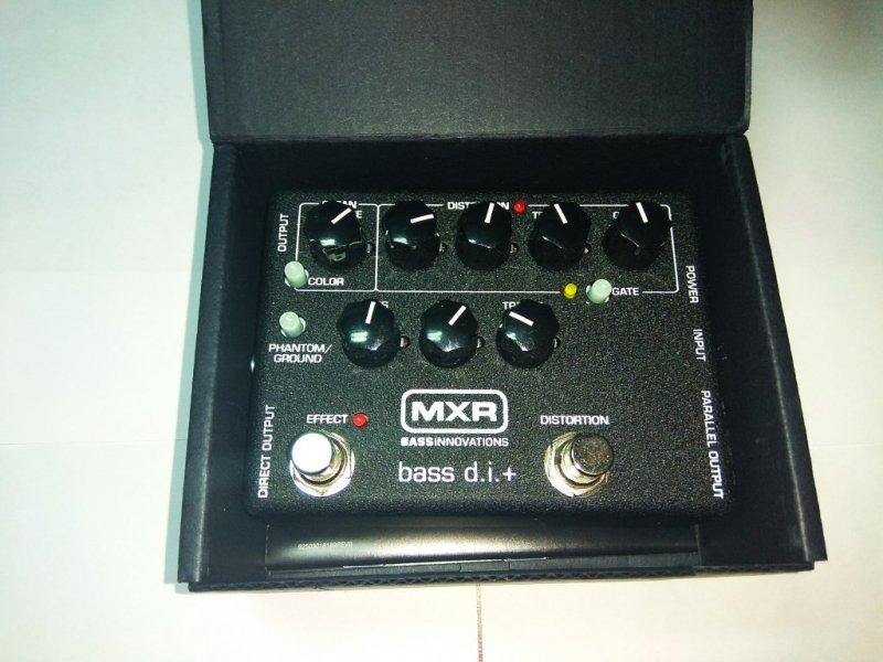 Директ-бокс для бас-гитары Dunlop MXR M80 bass D.i.+