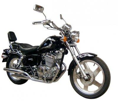 Мотоцикл Futong Cruise II 2007г.в, +шлем, плюс блокиратор колеса