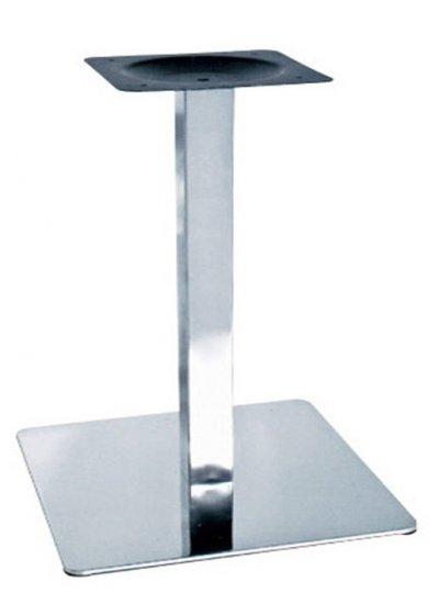 Опора дая стола Нил, металл, нержавеющая сталь, высота 72 см оптом