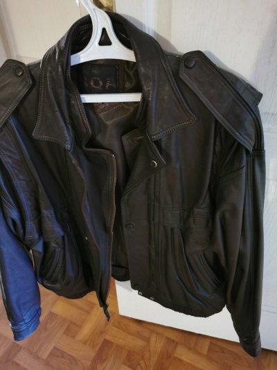 Куртка кожаная, р. 48-50