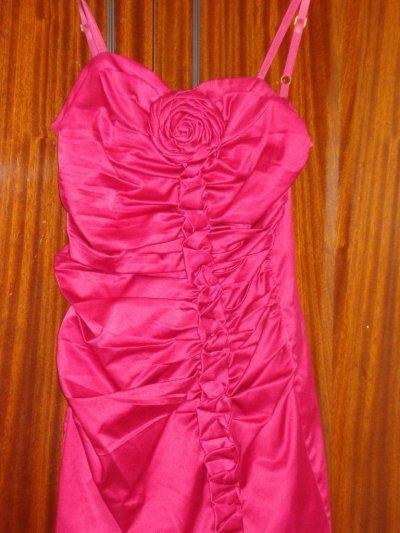 "Платье ""Rinascimento"" розовый цветок 44р S"