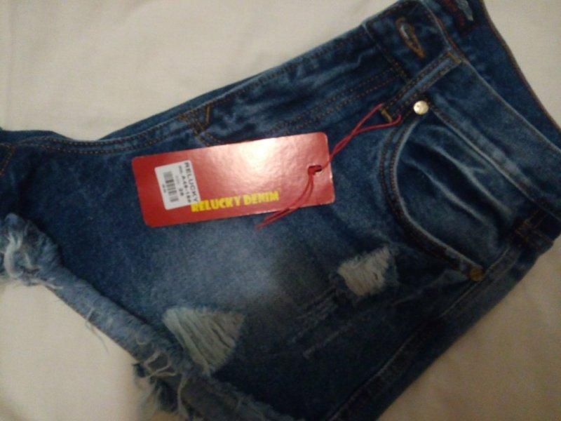 Продам новые джинсовые шорты.