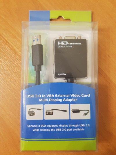 Адаптер USB 3.0 to VGA (FlyKan-U3VG01 High Speed)