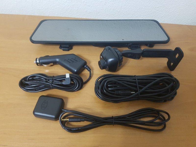 Видеорегистратор-зеркало 2 камеры 6000A