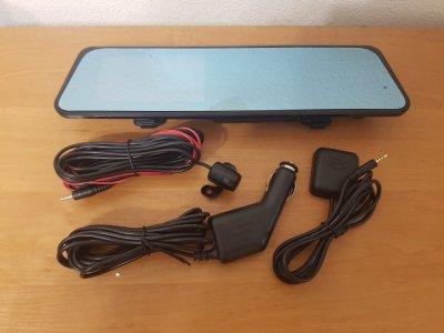 Видеорегистратор-зеркало 2 камеры Android