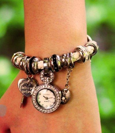Часы браслет Pandora, женские часы