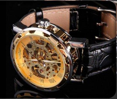 Часы Skeleton Winner. мужские часы